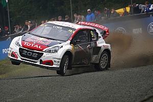 Peugeot conferma l'impegno nel Mondiale Rallycross e rinnova Loeb