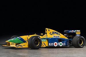 Формула 1 Новость Benetton Шумахера выставят на аукцион