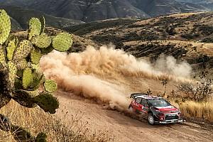 WRC Resumen de la etapa Citroën, a una jornada de su primera victoria del año