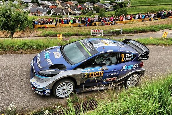 WRC Tappa Rally di Germania: Tanak chiude in vetta la Tappa 1. Neuville sale 3°!
