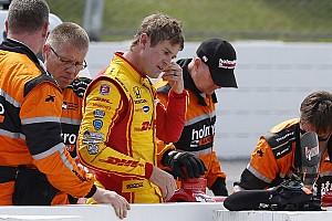 IndyCar Nieuws Deelname Hunter-Reay aan IndyCar-race onzeker na crash