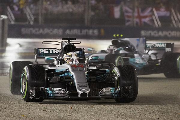 Як Mercedes вдалося повернути свій темп у гонці в Сінгапурі