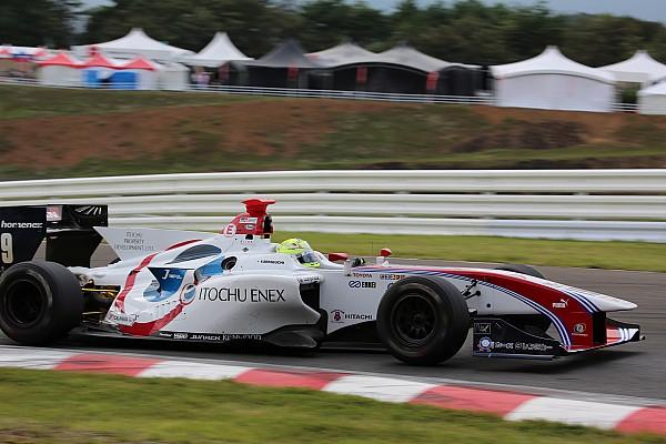 Super Formula Отчет о гонке Секигучи опередил Гасли на предпоследнем этапе Суперформулы