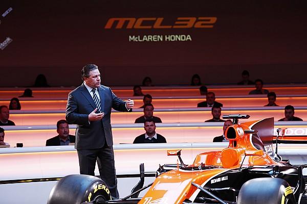 Формула 1 Новость Зак Браун сообщил об увеличении бюджета McLaren