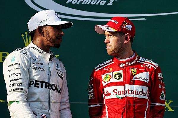 Vettel, Hamilton would relish F1 2017 title battle