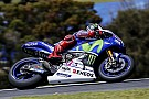 Yamaha speeds up on day two down under
