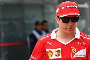 Räikkönen garázst takarít
