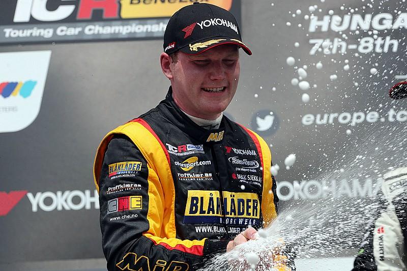 Primo podio per Paulsen: