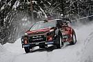 دبليو آر سي رالي السويد: فريق أبوظبي العالمي يقدم أداءً تنافسياً بالرغم من المسارات الثلجية الصعبة