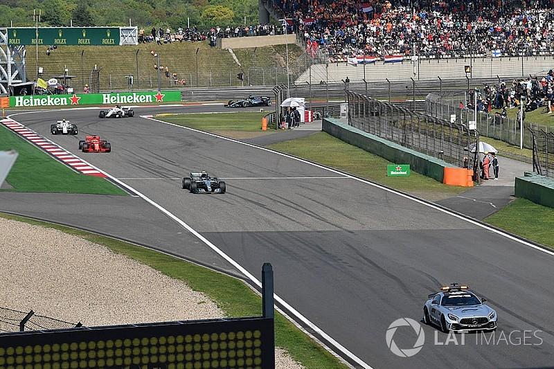 Pourquoi Hamilton ne s'est pas arrêté au stand sous Safety Car