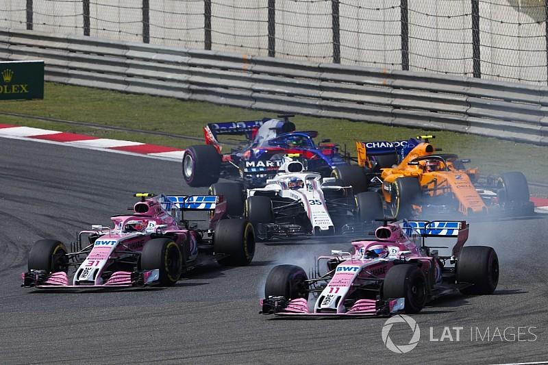 Force India – своим пилотам: Выдавливайте соперников, а не друг друга