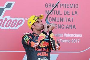 Moto2 Résumé de course Jamais deux sans trois pour Oliveira, Morbidelli deuxième