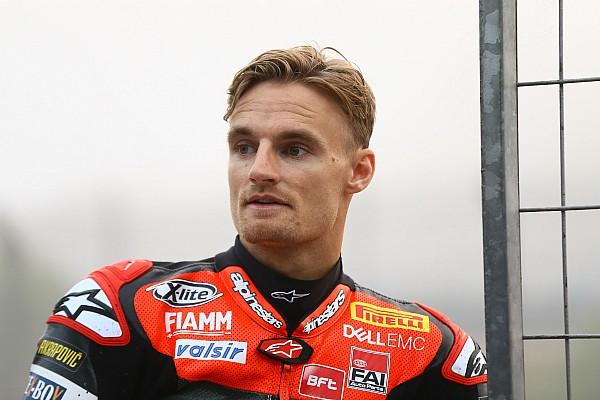 Sorgen bei Ducati: Wird Chaz Davies bis zum Saisonstart richtig fit?
