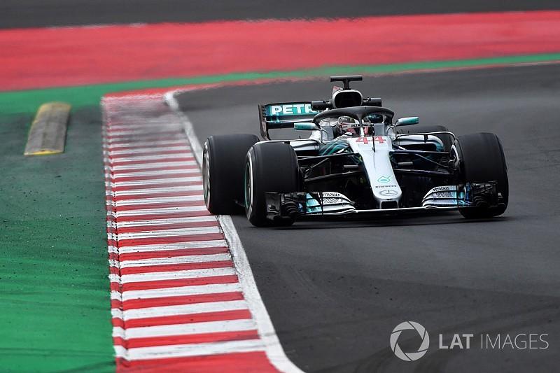 Hamilton: 2018 aracı, 2017 aracına kıyasla