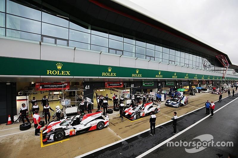 WEC Silverstone: Toyota bovenaan na verstoorde training