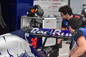 Toro Rosso: ala quasi piatta e comando del DRS completamente carenato