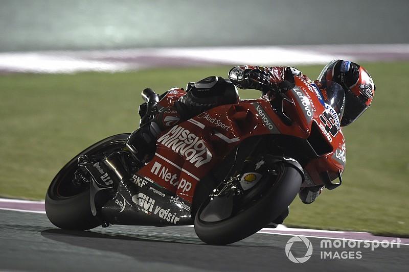 MotoGP, Losail, Libere 4: Petrucci e Dovizioso rilanciano le Ducati