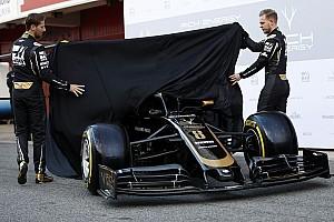 Галерея: Грожан і Магнуссен показали машину Haas перед початком тестів у Барселоні