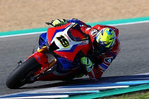 SBK: Honda chiude la pre-stagione completando i test ad Aragon