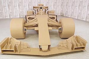 VÍDEO: Aprenda a fazer um carro da F1 em casa