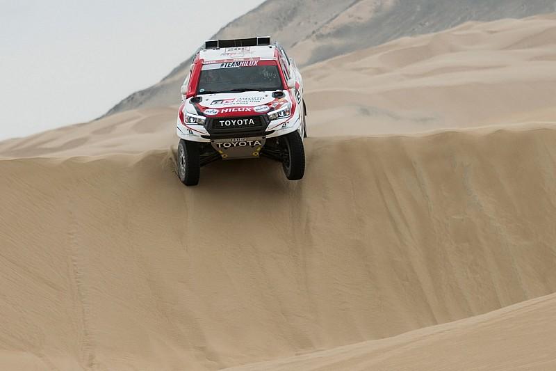 Dakar, De Villiers in alto con i piedi per terra: