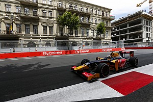 FIA F2 Qualifying report Baku GP2: Giovinazzi gets first pole in postponed qualifying