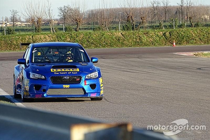 Erfolgreicher Test des Subaru STi TCR in Cremona