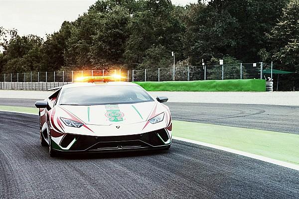 Формула 1 Lamborghini на стартовой решетке Гран При Италии. Что она там делала?