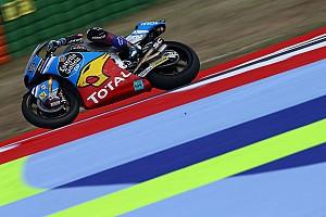 Moto2 Verslag vrije training Vrije Training 1 GP San Marino: P1 en highsider voor Marquez