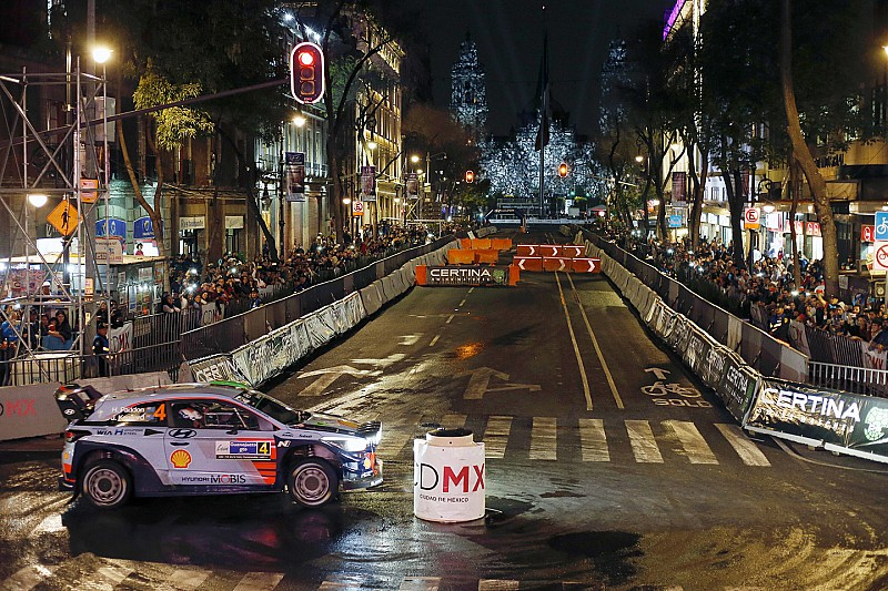 El WRC regresaría a Ciudad de México en 2018