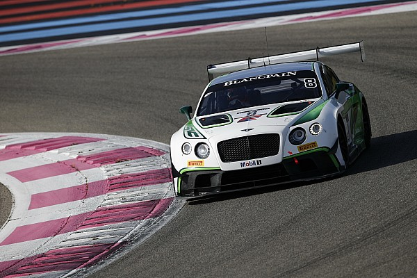 BES Gara Trionfo della Bentley alla 6 Ore del Paul Ricard