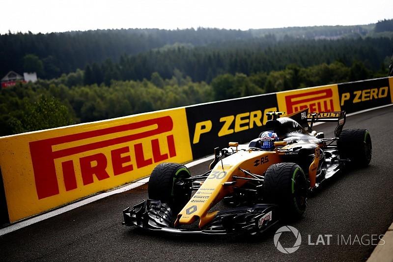 Jolyon Palmer pénalisé sur la grille du GP de Belgique