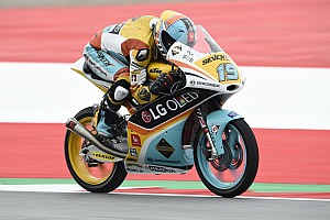 Moto3 Qualifiche In Austria arriva la seconda pole di fila di Rodrigo. Bastianini 4°