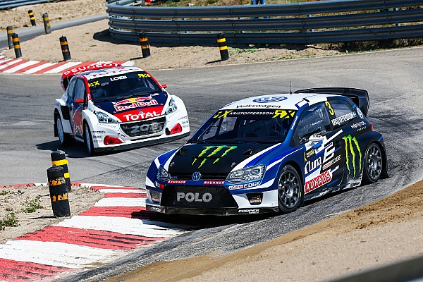 World Rallycross Portugal WRX: Kristoffersson sweeps opening day