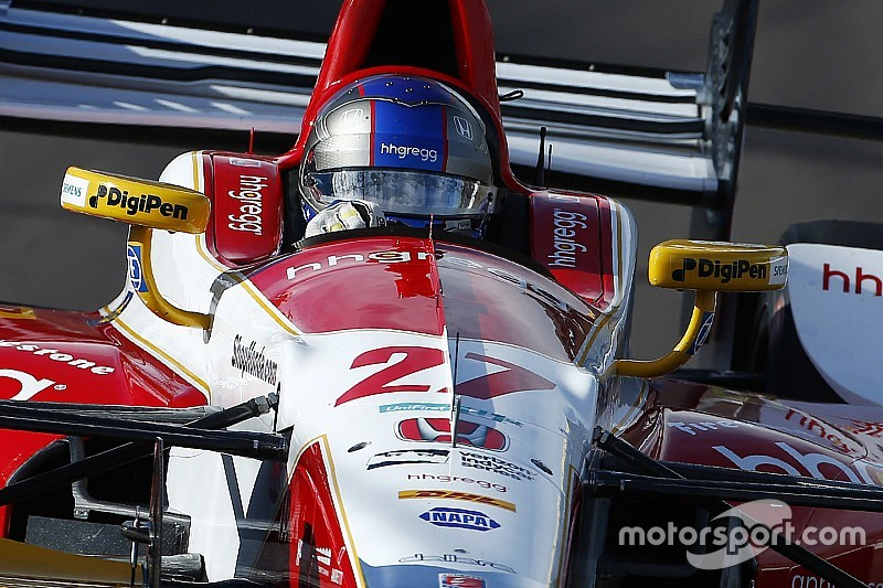St pete indycar andretti leads opening practice for Honda st petersburg