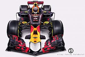 Технічний аналіз: секрети нового боліда Red Bull RB13