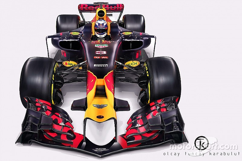 Турецкий дизайнер нарисовал машину Red Bull для нового сезона