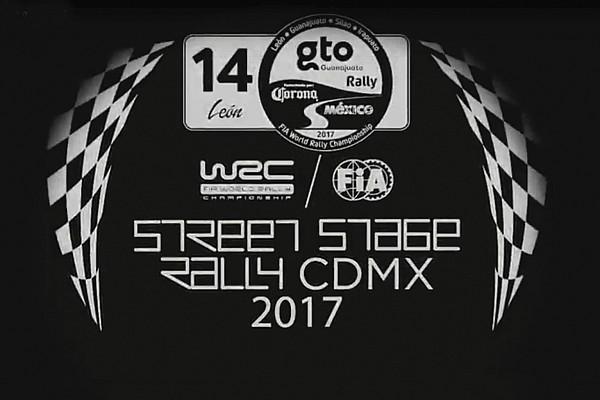 WRC Noticias VIDEO: Presentación de la etapa del WRC en la CDMX