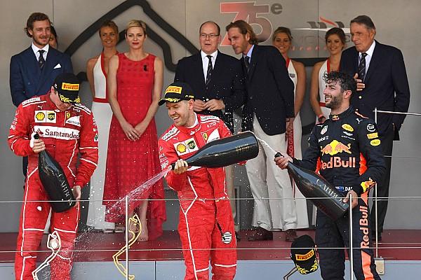 Формула 1 Репортаж з гонки Гран Прі Монако: Феттель та Райкконен приносять дубль Ferrari