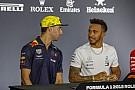 F1 ハミルトン、リカルドにレッドブル残留を助言。決断の鍵は来季のPU?