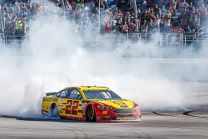 NASCAR Cup Interview With his Talladega win, Joey Logano's