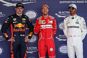 Fórmula 1 Crónica de Clasificación Actualizada: La parrilla de salida del GP de México