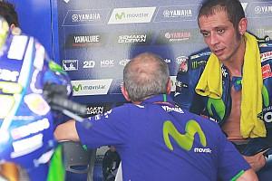 Rossi: Mustahil kendarai Yamaha di trek basah