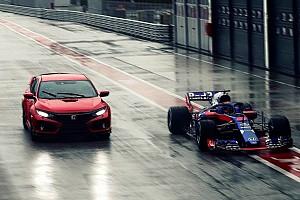 Auto Actualités Une Honda Civic Type R pour Pierre Gasly