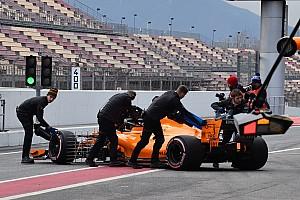 Formule 1 Actualités Un échappement limite le roulage de McLaren
