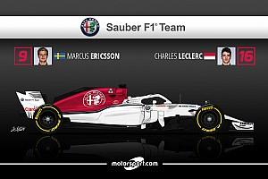 Formule 1 Preview Guide F1 2018 - Alfa Romeo Sauber, le début du mieux?
