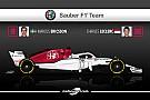 Formule 1 Guide F1 2018 - Alfa Romeo Sauber, le début du mieux?