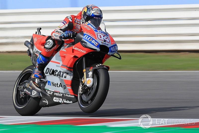 Dovizioso, el más rápido de la primera jornada en San Marino
