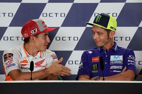 Valentino Rossi bleibt stur: Kein Handschlag mit Marc Marquez