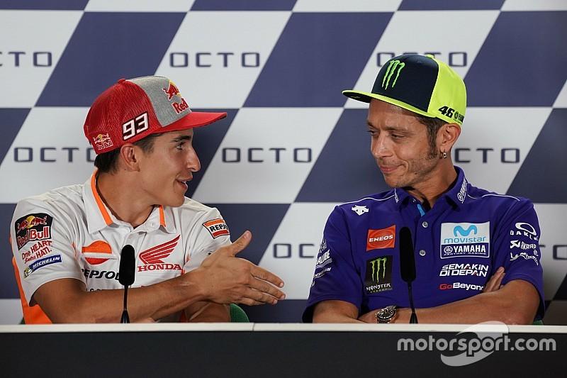 Et Rossi refusa la main tendue par Márquez